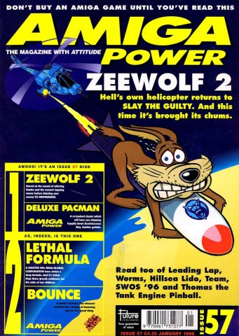 Amiga Power Issue 57 (January 1996)