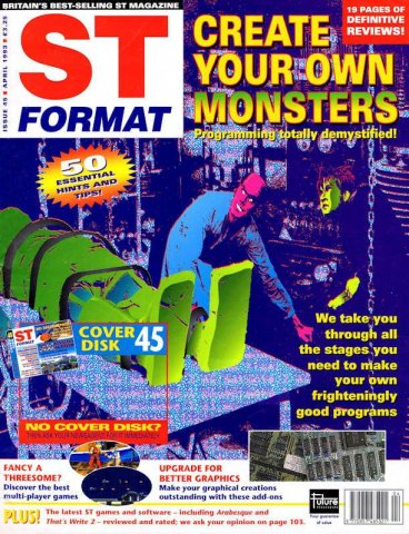 ST Format Issue 045 Apr 1993