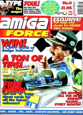 Amiga Force Issue 00