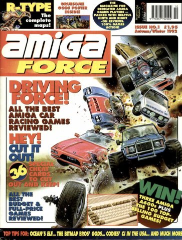 Amiga Force Issue 01