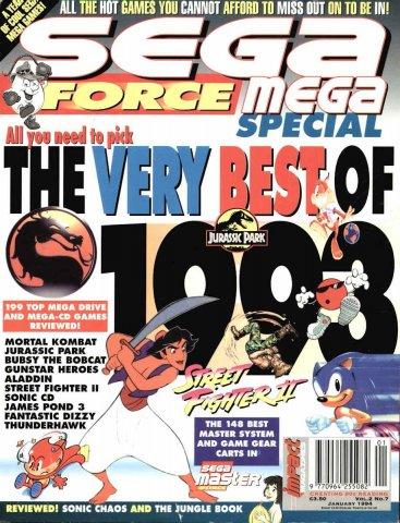 Sega Force Mega Issue 07