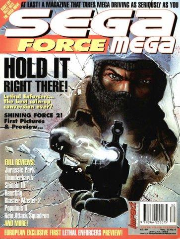 Sega Force Mega Issue 04