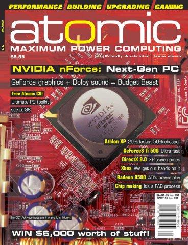 Atomic 011 (December 2001)