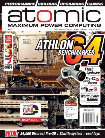 Atomic 033 (October 2003)
