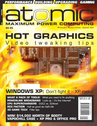 Atomic 010 (November 2001)