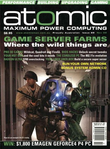 Atomic 022 (November 2002)