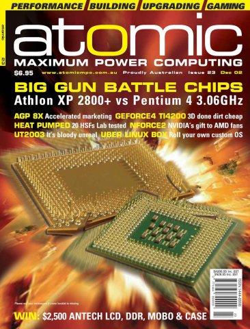 Atomic 023 (December 2002)