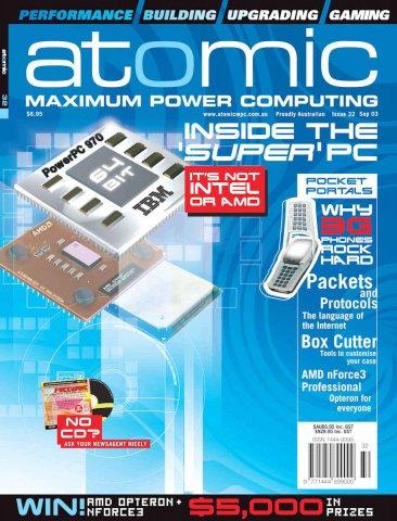 Atomic 032 (September 2003)