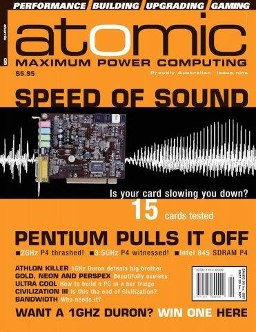 Atomic 009 (October 2001)