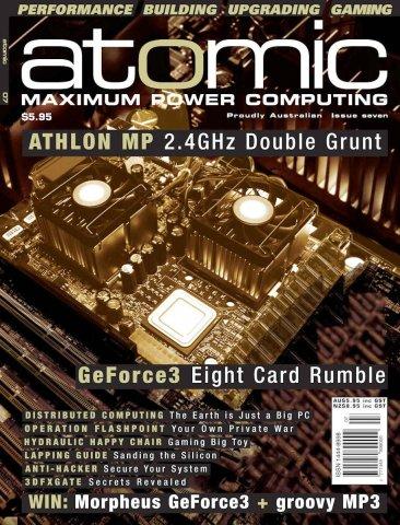 Atomic 007 (August 2001)
