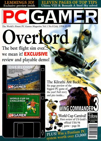 PC Gamer UK 008 July 1994