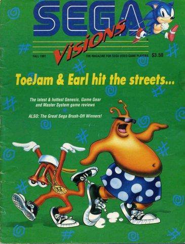 Sega Visions Issue 006