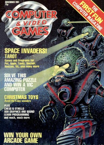 Computer & Video Games 001 (November 1981)