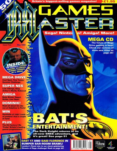 GamesMaster Issue 005 (May 1993)