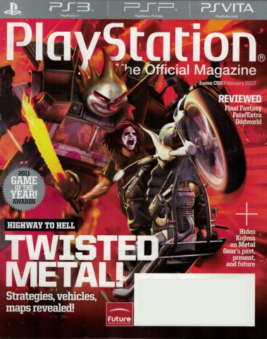 PlayStation The Official Magazine (USA) Issue 055 February 2012