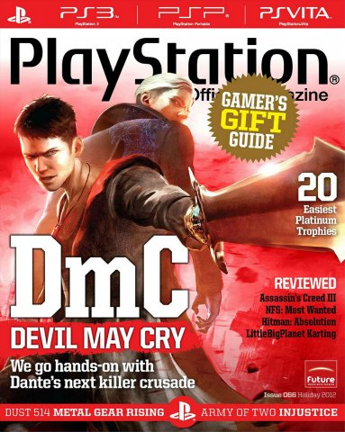 PlayStation The Official Magazine (USA) Issue 066 Holiday 2012