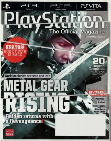 PlayStation The Official Magazine (USA) Issue 060 July 2012