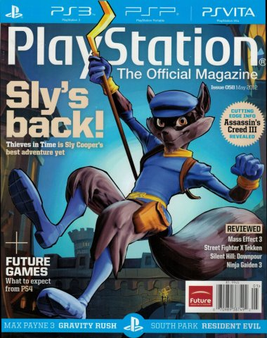 PlayStation The Official Magazine (USA) Issue 058 May 2012