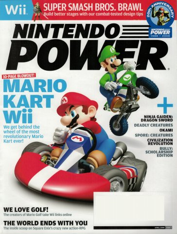 Nintendo Power Issue 227 (April 2008)