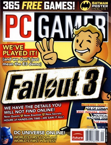 PC Gamer Issue 178 September 2008