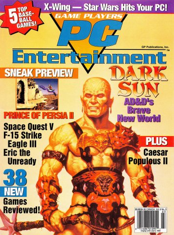 Game Players PC Entertainment Vol.6 No.3 (May/June 1993)