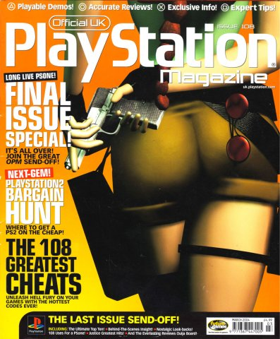 Official UK PlayStation Magazine Issue 108 March 2004