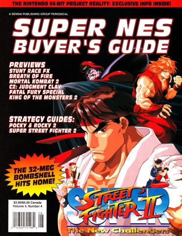 Super NES Buyer's Guide Issue 15 July 1994