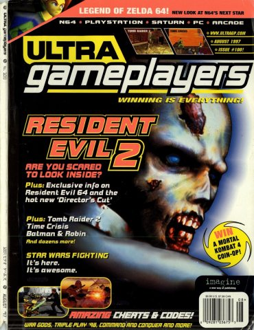Ultra Game Players Issue 100 (August 1997)
