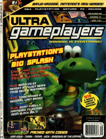 Ultra Game Players Issue 101 (September 1997)