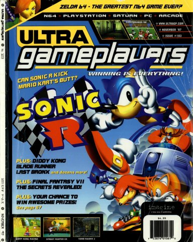 Ultra Game Players Issue 103 (November 1997)