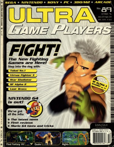 Ultra Game Players Issue 089 (October 1996)