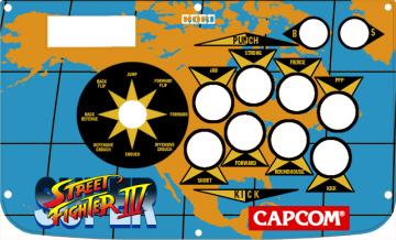 My Custom Hori Real Arcade Pro EX SE Artwork (Super SFIV Edn.)