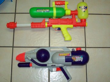 Salvation Army Super Soaker Haul