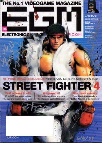 A siGameNOW ed cover of EGM from E3 2009