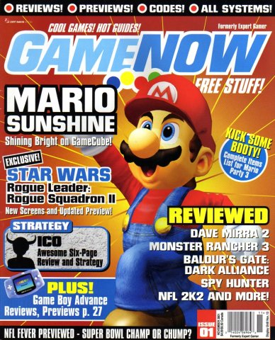 GameNow Issue 001 November 2001