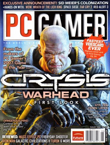 PC Gamer Issue 177 August 2008