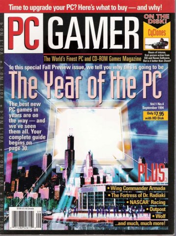 PC Gamer Issue 004 September 1994
