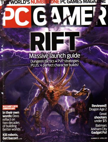 PC Gamer Issue 212 April 2011