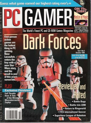 PC Gamer Issue 005 October 1994
