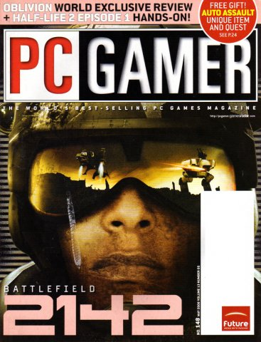 PC Gamer Issue 148 May 2006