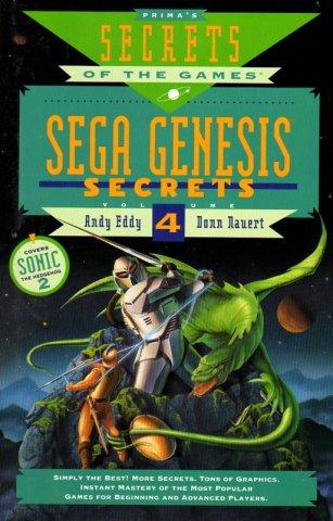 Sega Genesis Secrets Volume 4