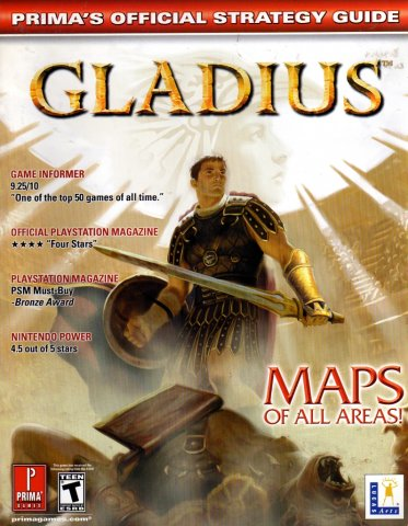 Gladius Official Strategy Guide