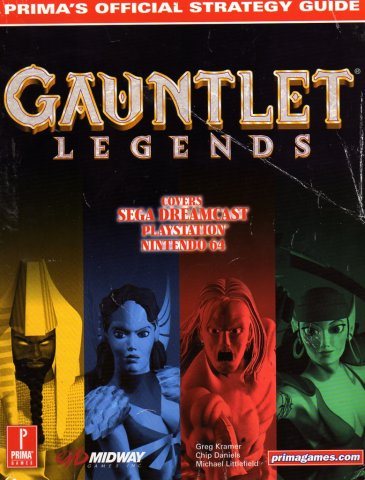 Gauntlet Legends Official Strategy Guide