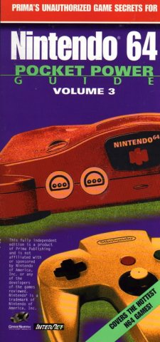 Nintendo 64 Pocket Power Guide, Volume 3