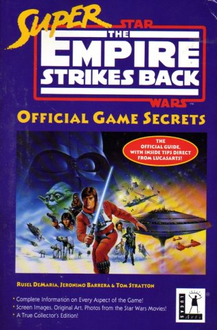Super Empire Strikes Back Official Game Secrets
