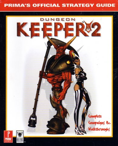 Dungeon Keeper 2 Official Strategy Guide