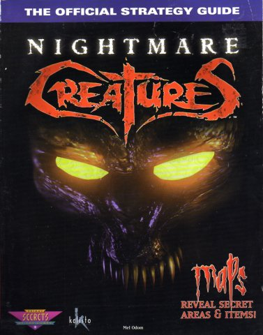 Nightmare Creatures Official Strategy Guide