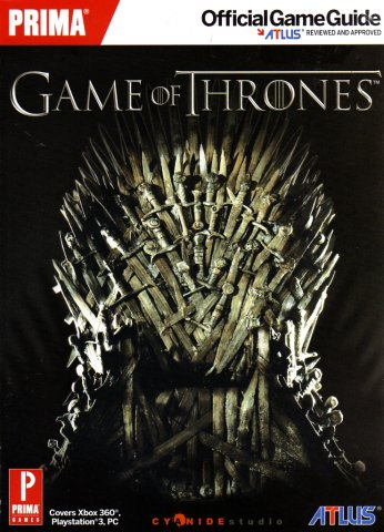 Game Of Thrones Official Game Guide