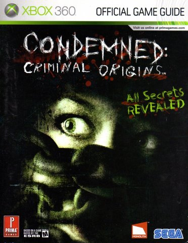 Condemned: Criminal Origins Official Game Guide