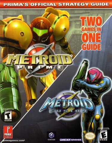 Metroid Prime And Metroid Fusion Official Strategy Guide